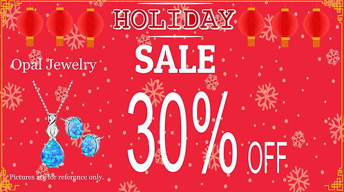30% Off For Opal Jewelry