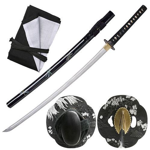 40.9'' Overall Hand Forged Samurai Sword