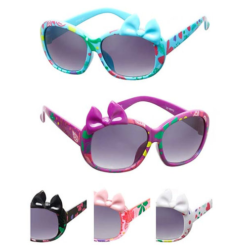 Girl's Fashion Sunglasses Bow On The Top