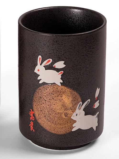 Moon Rabbit Tea Cup