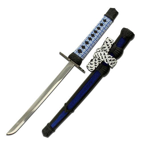 """8"""" Overall Sword Letter Opener Blue"""
