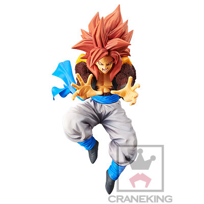 19cm Dragon Ball GT Ultimate Fusion Big Bang Kamehameha Super Saiyan 4 Gogeta
