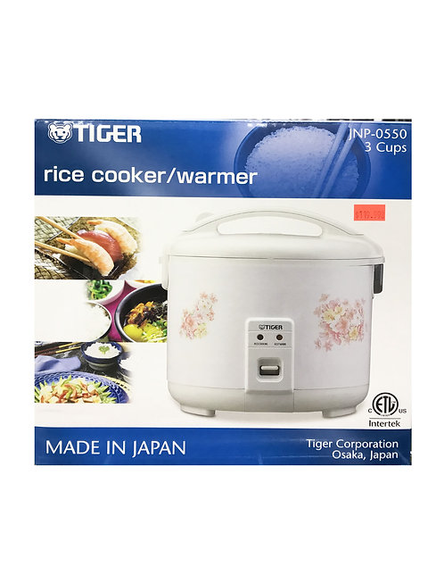 Tiger 3 Cups Rice Cooker&Warmer Flower