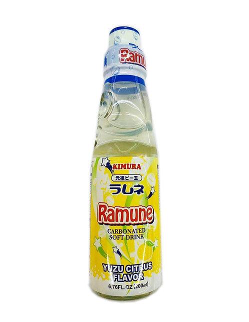 6.76fl.oz Ramune Yuzu Citrus Flavor