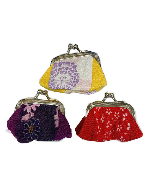 Mini Textile Coin Purse Japanese Design