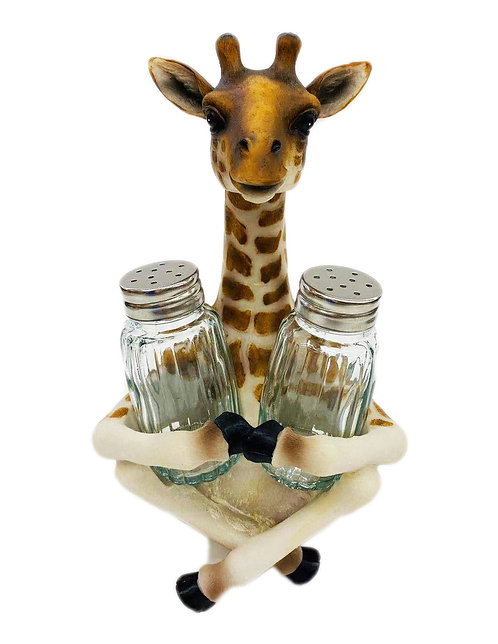 """8.5"""" Giraffe Spicy Holder"""