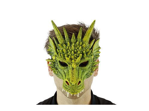 Super Soft Dragon Mask Green