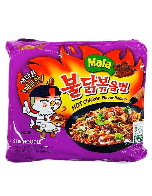 5PC Samyang Hot Chicken Noodle
