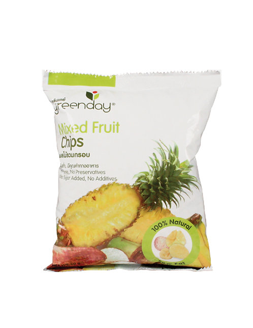 Green Day Mixed Fruit Chips