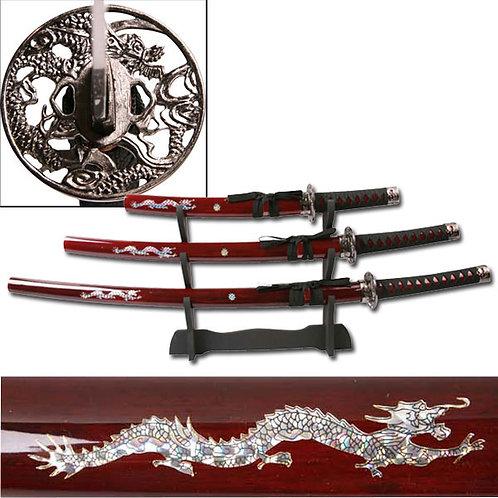 39.5'' Overall Samurai Sword Set(Katana)