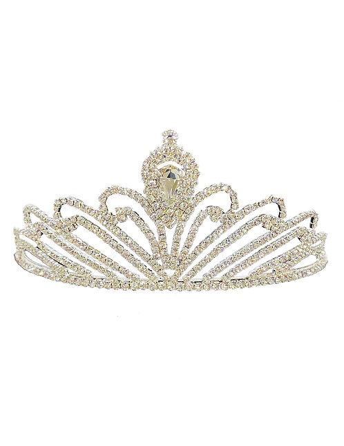 Tiara Gold Rhinestones & Crystal No.#8