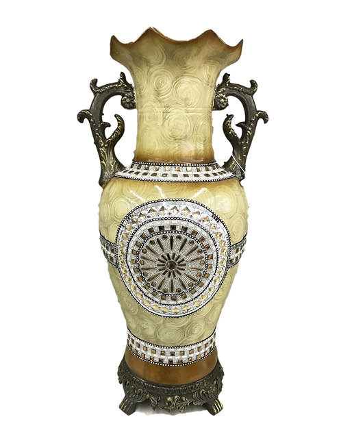 "31"" Decoration Flower Vase With Stone"