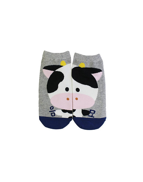 Couple Socks- Cow