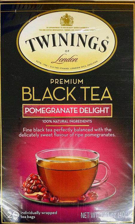 1.41oz Twinings Pomegranate Delight BlackTea