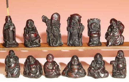 Tiny Buddha Resin Incense Burner