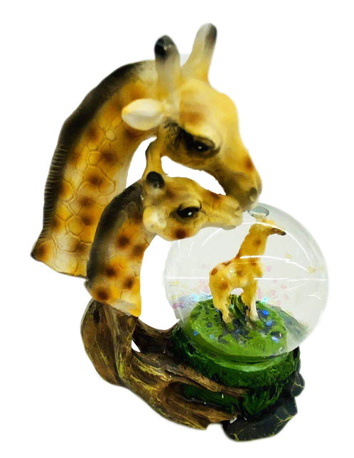Giraffe W/ Ball Decor