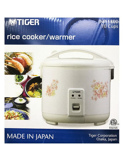 Tiger 10 Cups Rice Cooker&Warmer Flower