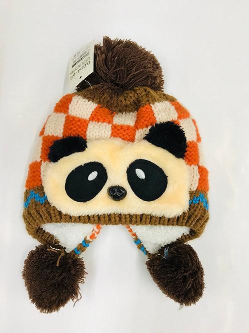 Kids Knitting Winter Hat Panda