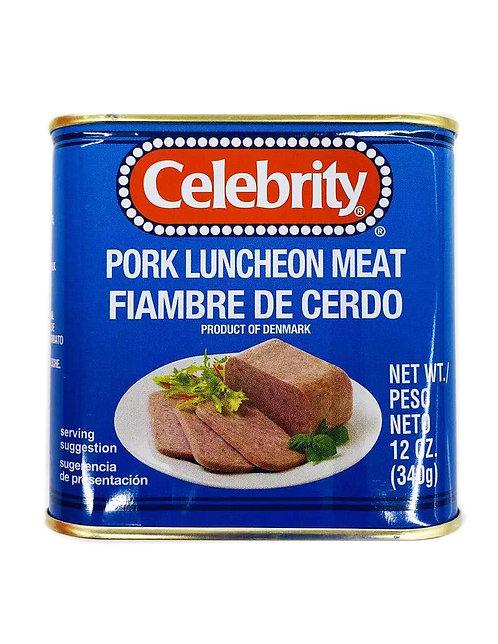 12oz Celebrity Pork Luncheon Meat