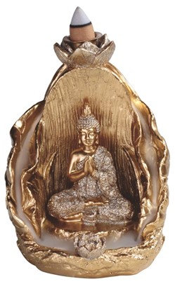 "5"",  Backflow-Buddha Incense Burner"