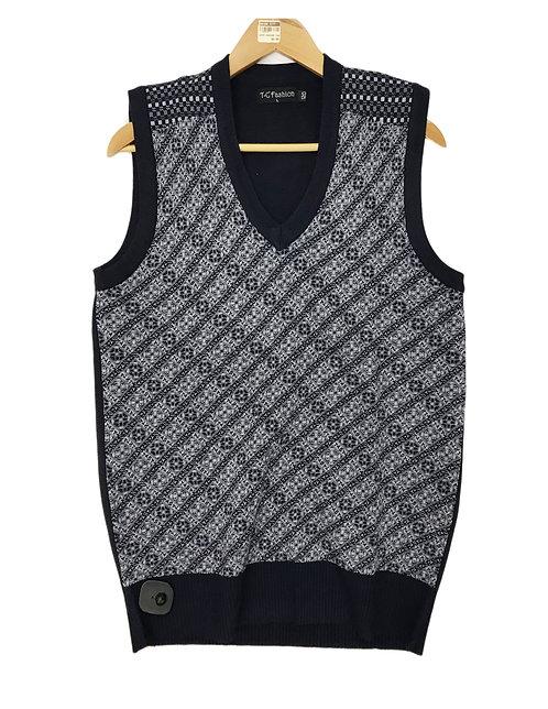 Men Knitting Winter Vest Style 6