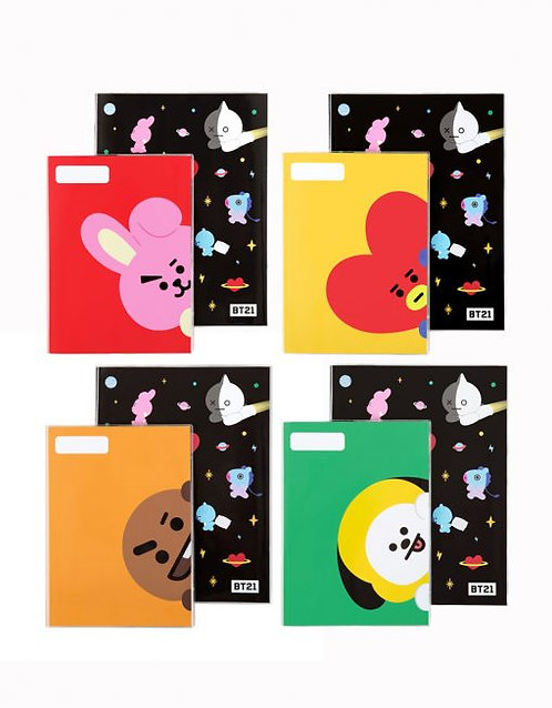 BT21 Note 2Pcs Set
