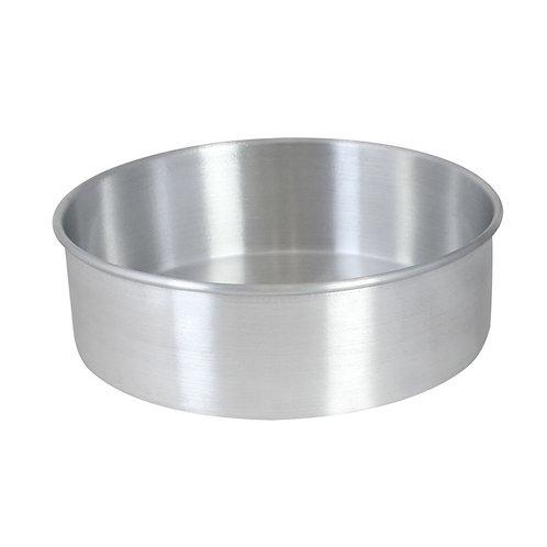 "8""x3"" Aluminum Cake Pan"