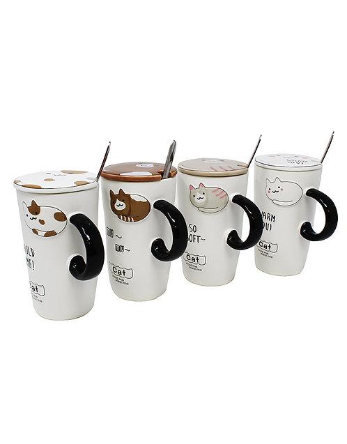 Neko Cup W/ Spoon