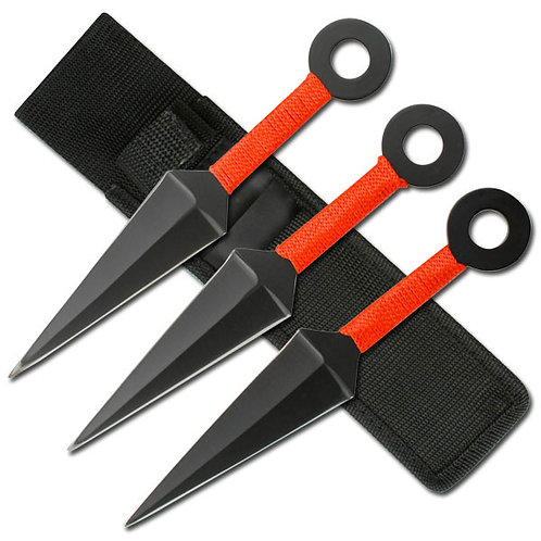 8''Overall Throwing Knife Set