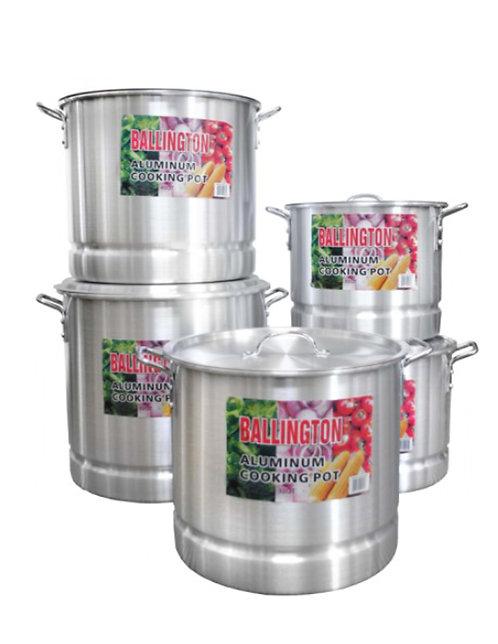 40QT Aluminum Stockpots