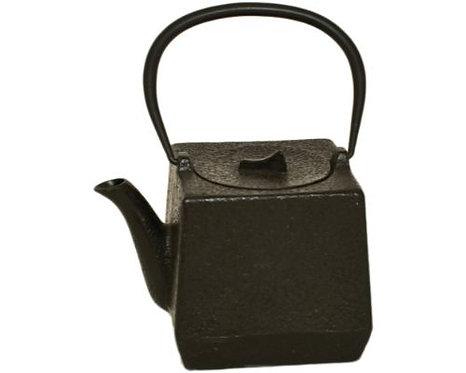 Cast Iron Tea Pot - Black