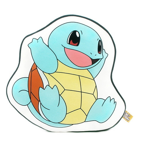 Pokemon Outlined Nap Cushion - Squirtle