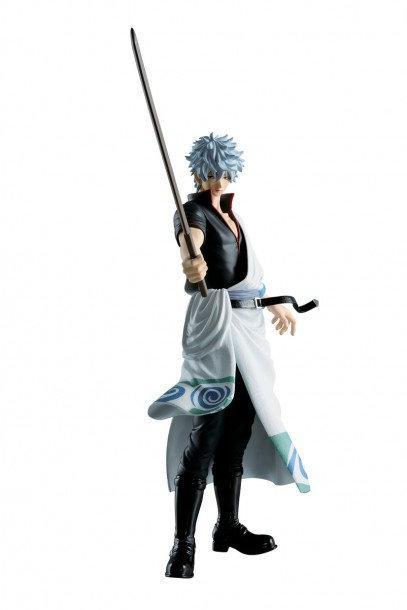 20cm Gintama - Katsugeki (Action Movies) Kabukicho Issen - Gintoki Sakata Figure