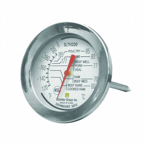 Dial Meat Thermo 120 To 200 F