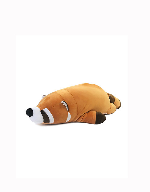 "32"" Mochy Plush Toy-Lying Raccoon"