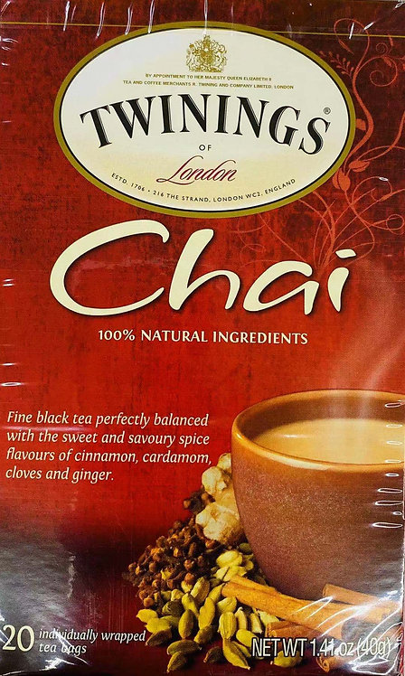 1.41oz Twinings Chai Tea