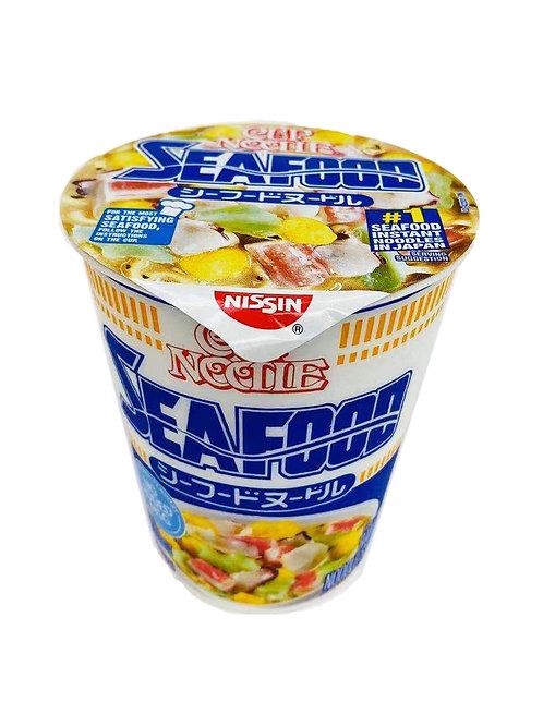2.7oz Nissin Cup Noodles Seafood