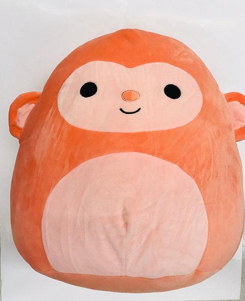 "12"" Squish Mallow Animal Monkey"