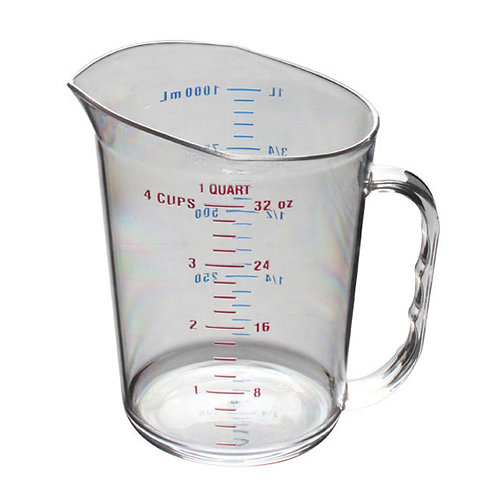 1QT Poly Measuring Cup