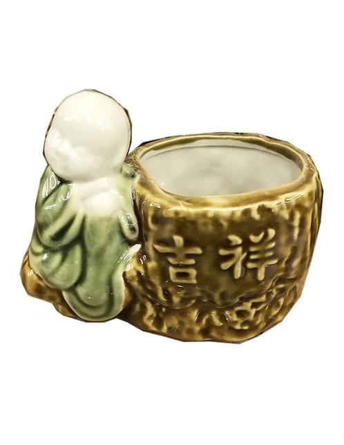 Buddha Bamboo Vase