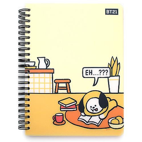 BT21 PP Cover Notebook - Chimmy