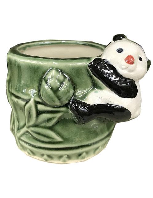 Panda Bamboo Vase