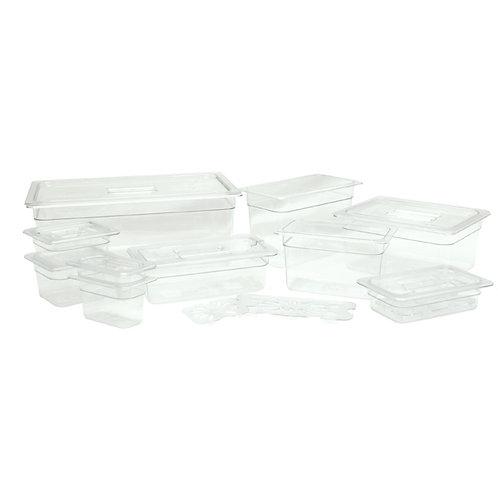 Quarter Size Polycarbonate Drain Shelves