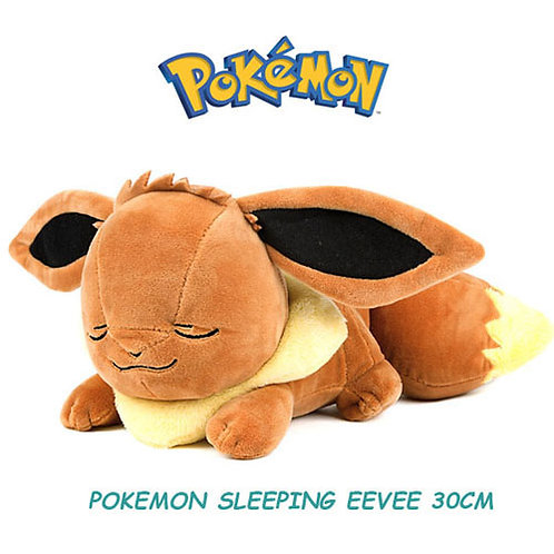 30cm, Pokemon Sleeping Eevee Plush