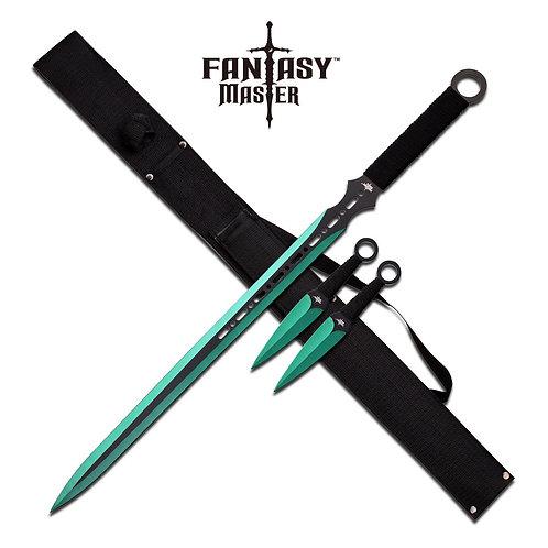 28''Overall Fantasy Sword Set