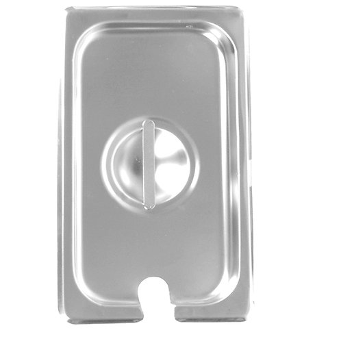 1/3, Size Slotted Cover For Steam Pans