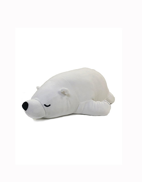 "19"" Mochy Plush Toys- Lying Pola Bear"
