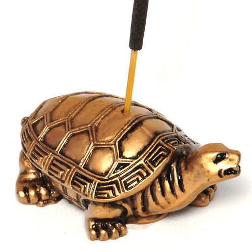 Turtle Resin Incense Burner