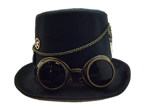 Steampunk Hat With Goggle
