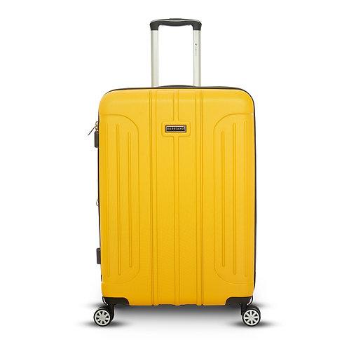 """20"""", 8, Wheel Luggage Yellow"""